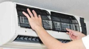 Cambio de filtros split aire acondicionado
