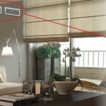 vivienda con rejillas para aire acondicionado