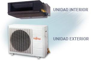 Aparato de aire acondicionado por conductos
